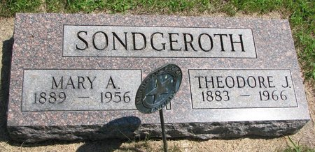 SONDGEROTH, MARY ANN - Gregory County, South Dakota | MARY ANN SONDGEROTH - South Dakota Gravestone Photos