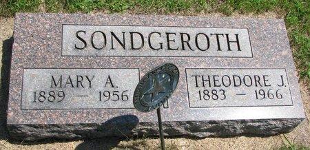 TIEFENTHALER SONDGEROTH, MARY ANN - Gregory County, South Dakota | MARY ANN TIEFENTHALER SONDGEROTH - South Dakota Gravestone Photos