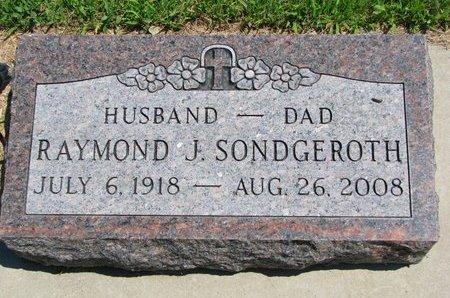 SONDGEROTH, RAYMOND J. - Gregory County, South Dakota | RAYMOND J. SONDGEROTH - South Dakota Gravestone Photos