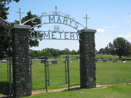 ST. MARY'S, *ENTRACE SIGN - Gregory County, South Dakota | *ENTRACE SIGN ST. MARY'S - South Dakota Gravestone Photos
