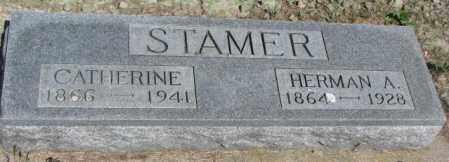 STAMER, HERMAN A. - Gregory County, South Dakota   HERMAN A. STAMER - South Dakota Gravestone Photos