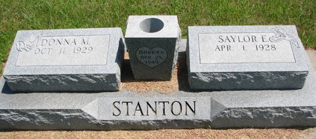 STANTON, SAYLOR E. - Gregory County, South Dakota | SAYLOR E. STANTON - South Dakota Gravestone Photos