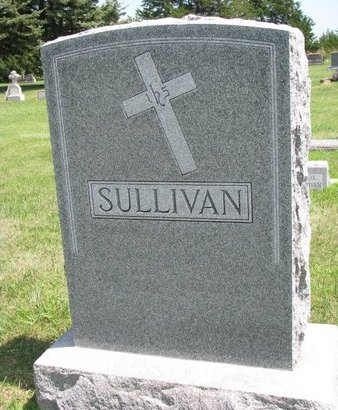 SULLIVAN, *FAMILY MONUMENT - Gregory County, South Dakota | *FAMILY MONUMENT SULLIVAN - South Dakota Gravestone Photos