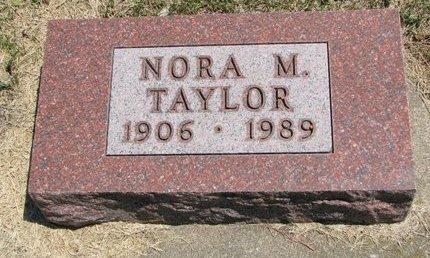 SONDERROTH TAYLOR, NORA MARY - Gregory County, South Dakota | NORA MARY SONDERROTH TAYLOR - South Dakota Gravestone Photos