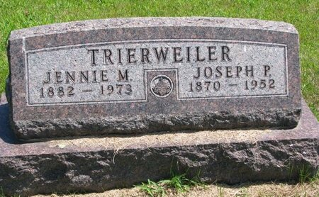 TRIERWEILER, JENNIE MABLE - Gregory County, South Dakota | JENNIE MABLE TRIERWEILER - South Dakota Gravestone Photos