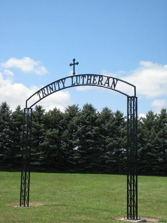 *TRINITY LUTHERAN, GATE SIGN - Gregory County, South Dakota | GATE SIGN *TRINITY LUTHERAN - South Dakota Gravestone Photos
