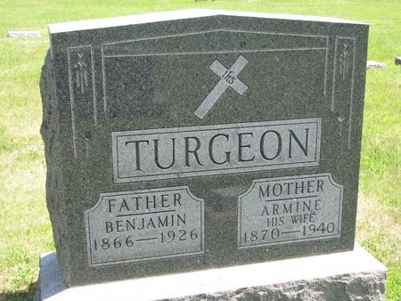 TURGEON, BENJAMIN - Gregory County, South Dakota | BENJAMIN TURGEON - South Dakota Gravestone Photos