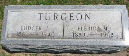 TURGEON TURGEON, FLERIDA MARIE - Gregory County, South Dakota | FLERIDA MARIE TURGEON TURGEON - South Dakota Gravestone Photos