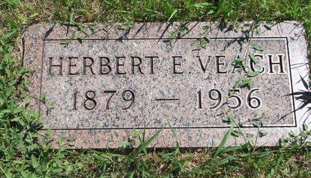 VEACH, HERBERT E. - Gregory County, South Dakota | HERBERT E. VEACH - South Dakota Gravestone Photos
