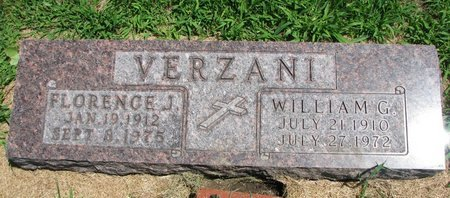 VERZANI, FLORENCE JANE - Gregory County, South Dakota | FLORENCE JANE VERZANI - South Dakota Gravestone Photos