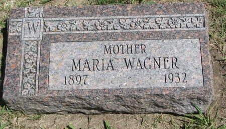 WAGNER, MARIA - Gregory County, South Dakota | MARIA WAGNER - South Dakota Gravestone Photos