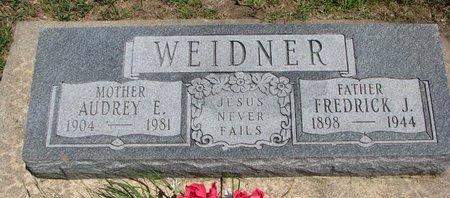WEIDNER, AUDREY ELIZABETH - Gregory County, South Dakota | AUDREY ELIZABETH WEIDNER - South Dakota Gravestone Photos