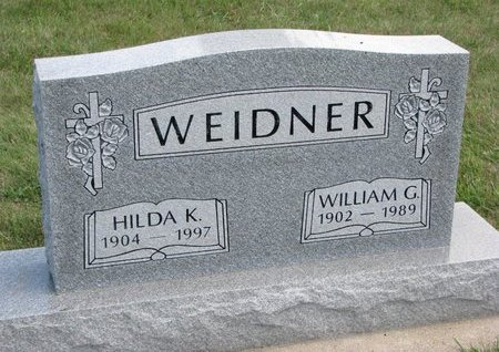 WEIDNER, WILLIAM G. - Gregory County, South Dakota | WILLIAM G. WEIDNER - South Dakota Gravestone Photos