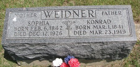 ZISSLER WEIDNER, SOPHIA - Gregory County, South Dakota | SOPHIA ZISSLER WEIDNER - South Dakota Gravestone Photos