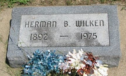 WILKEN, HERMAN B. - Gregory County, South Dakota   HERMAN B. WILKEN - South Dakota Gravestone Photos