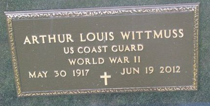 WITTMUSS, ARTHUR LOUIS (MILITARY) - Gregory County, South Dakota | ARTHUR LOUIS (MILITARY) WITTMUSS - South Dakota Gravestone Photos