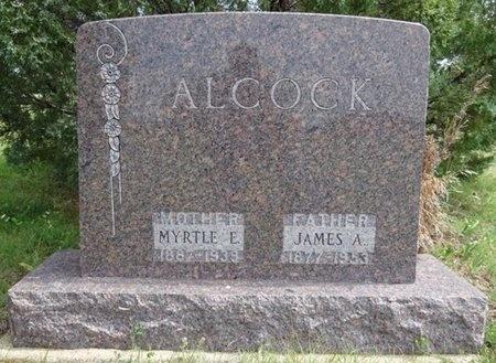 ALCOCK, JAMES - Haakon County, South Dakota | JAMES ALCOCK - South Dakota Gravestone Photos
