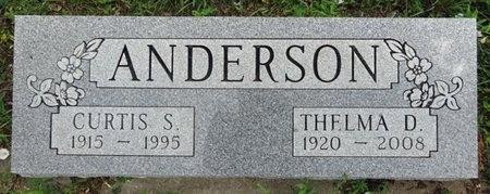 ANDERSON, THELMA - Haakon County, South Dakota | THELMA ANDERSON - South Dakota Gravestone Photos