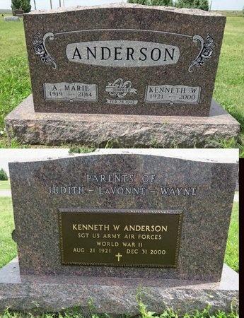 ANDERSON, A. MARIE - Haakon County, South Dakota | A. MARIE ANDERSON - South Dakota Gravestone Photos