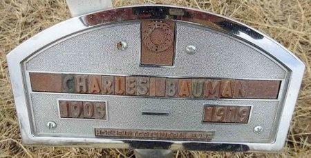 BAUMAN, CHARLES - Haakon County, South Dakota   CHARLES BAUMAN - South Dakota Gravestone Photos