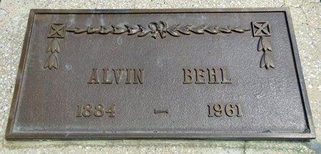 BEHL, ALVIN - Haakon County, South Dakota | ALVIN BEHL - South Dakota Gravestone Photos