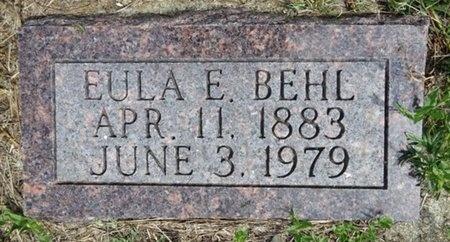 BEHL, EULA - Haakon County, South Dakota | EULA BEHL - South Dakota Gravestone Photos