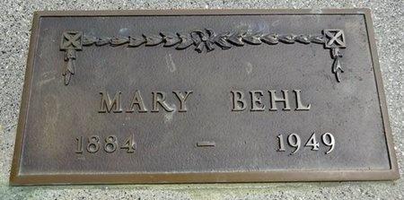 BEHL, MARY - Haakon County, South Dakota | MARY BEHL - South Dakota Gravestone Photos