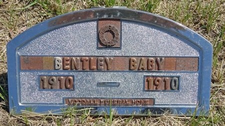 BENTLEY, BABY - Haakon County, South Dakota | BABY BENTLEY - South Dakota Gravestone Photos