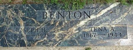 BENTON, TENA - Haakon County, South Dakota | TENA BENTON - South Dakota Gravestone Photos