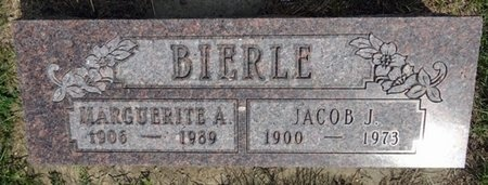 BIERLE, JACOB - Haakon County, South Dakota | JACOB BIERLE - South Dakota Gravestone Photos