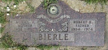BIERLE, ROBERT - Haakon County, South Dakota | ROBERT BIERLE - South Dakota Gravestone Photos