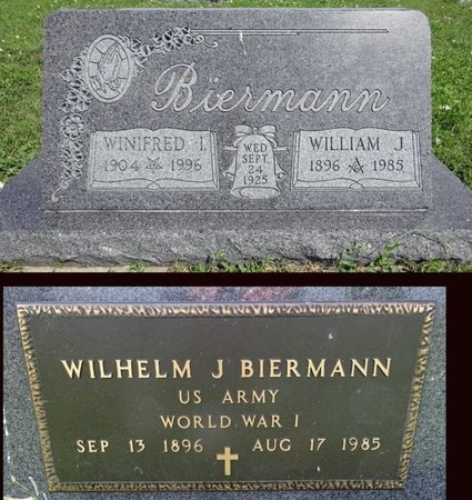 BIERMANN, WILLIAM - Haakon County, South Dakota | WILLIAM BIERMANN - South Dakota Gravestone Photos