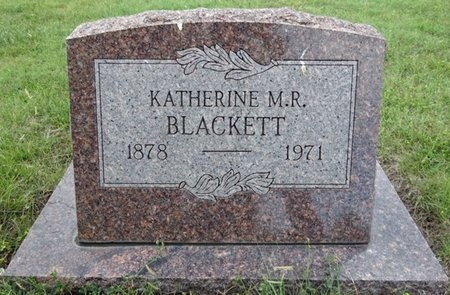 BLACKETT, KATHERINE - Haakon County, South Dakota | KATHERINE BLACKETT - South Dakota Gravestone Photos