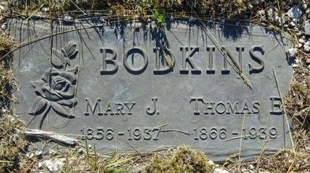 BODKINS, MARY - Haakon County, South Dakota | MARY BODKINS - South Dakota Gravestone Photos