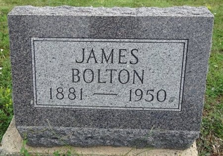 BOLTON, JAMES - Haakon County, South Dakota | JAMES BOLTON - South Dakota Gravestone Photos