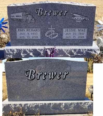 BREWER, JESSIE MAE - Haakon County, South Dakota | JESSIE MAE BREWER - South Dakota Gravestone Photos