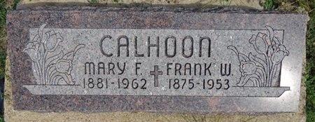 CALHOON, FRANK - Haakon County, South Dakota | FRANK CALHOON - South Dakota Gravestone Photos