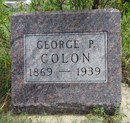 COLON, GEORGE - Haakon County, South Dakota | GEORGE COLON - South Dakota Gravestone Photos