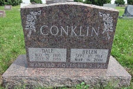 CONKLIN, HELEN - Haakon County, South Dakota | HELEN CONKLIN - South Dakota Gravestone Photos