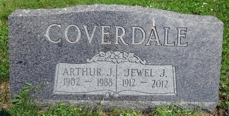COVERDALE, JEWEL - Haakon County, South Dakota | JEWEL COVERDALE - South Dakota Gravestone Photos
