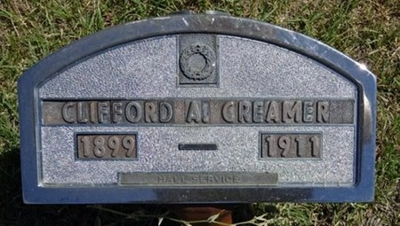 CREAMER, CLIFFORD - Haakon County, South Dakota | CLIFFORD CREAMER - South Dakota Gravestone Photos