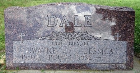 DALE, JESSICA - Haakon County, South Dakota | JESSICA DALE - South Dakota Gravestone Photos