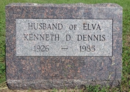 DENNIS, KENNETH - Haakon County, South Dakota | KENNETH DENNIS - South Dakota Gravestone Photos