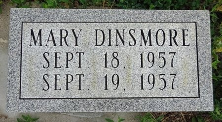 DINSMORE, MARY - Haakon County, South Dakota   MARY DINSMORE - South Dakota Gravestone Photos