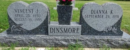 DINSMORE, VINCENT - Haakon County, South Dakota | VINCENT DINSMORE - South Dakota Gravestone Photos