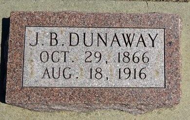 DUNAWAY, J.B. - Haakon County, South Dakota | J.B. DUNAWAY - South Dakota Gravestone Photos