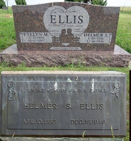 ELLIS, HELMER - Haakon County, South Dakota | HELMER ELLIS - South Dakota Gravestone Photos