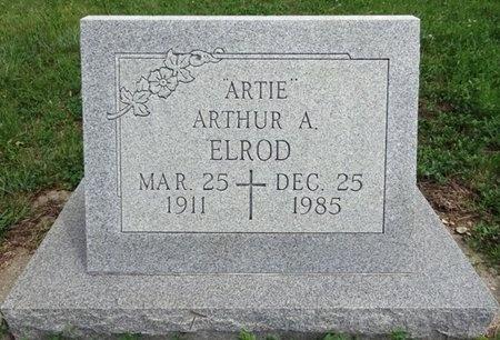 "ELROD, ARTHUR ""ARTIE"" - Haakon County, South Dakota | ARTHUR ""ARTIE"" ELROD - South Dakota Gravestone Photos"