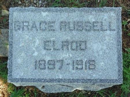 ELROD, GRACE - Haakon County, South Dakota | GRACE ELROD - South Dakota Gravestone Photos