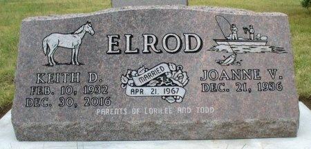 HESSE ELROD, JOANNE V. - Haakon County, South Dakota | JOANNE V. HESSE ELROD - South Dakota Gravestone Photos